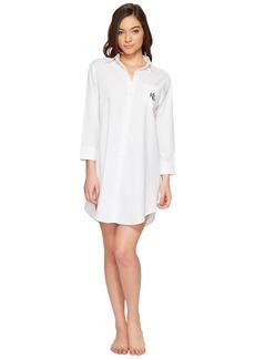 Ralph Lauren Cotton Jacquard Sleepshirt