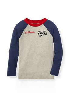 Ralph Lauren Cotton Jersey Baseball T-Shirt