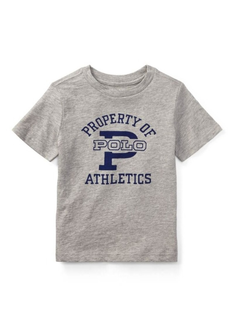 Sale ralph lauren cotton jersey graphic t shirt shop it for Graphic t shirt shop