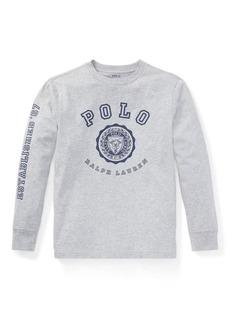 Ralph Lauren Cotton Jersey Graphic T-Shirt
