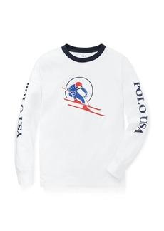 Ralph Lauren Downhill Skier Cotton T-Shirt