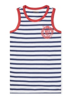 Ralph Lauren Cotton Jersey Graphic Tank Top