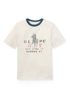 Ralph Lauren Cotton Jersey Ringer T-Shirt