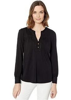 Ralph Lauren Cotton Jersey Top