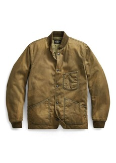 Ralph Lauren Cotton Jungle Cloth Jacket