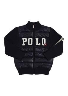 Ralph Lauren Cotton Knit & Nylon Jacket