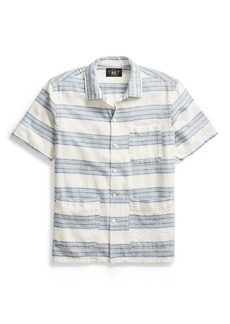 Ralph Lauren Cotton-Linen Camp Shirt