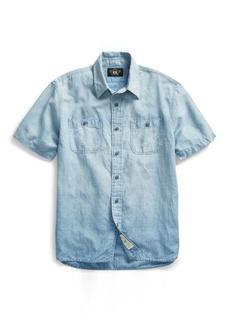 Ralph Lauren Cotton-Linen Chambray Shirt