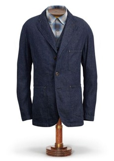 Ralph Lauren Cotton-Linen-Denim Sport Coat
