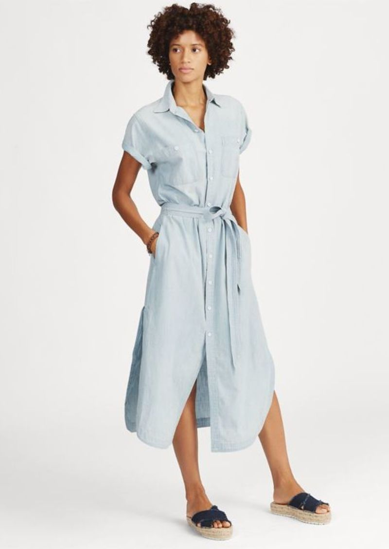 Ralph Lauren Cotton Linen Shirtdress Dresses