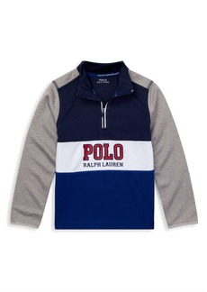 Ralph Lauren Cotton Logo Pullover