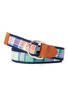 Ralph Lauren Cotton Madras Belt