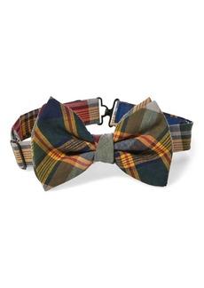 Ralph Lauren Cotton Madras Bow Tie