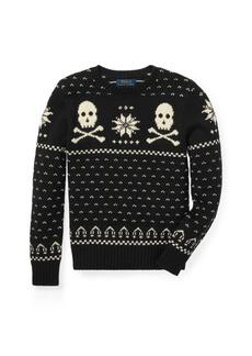 Ralph Lauren Cotton-Merino Sweater