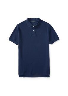 Ralph Lauren Cotton Mesh Uniform Polo Shirt