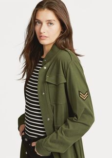 Ralph Lauren Cotton Military Jacket