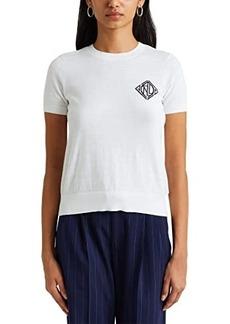Ralph Lauren Cotton-Modal Short Sleeve Sweater