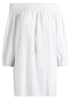Ralph Lauren Cotton Off-the-Shoulder Tunic
