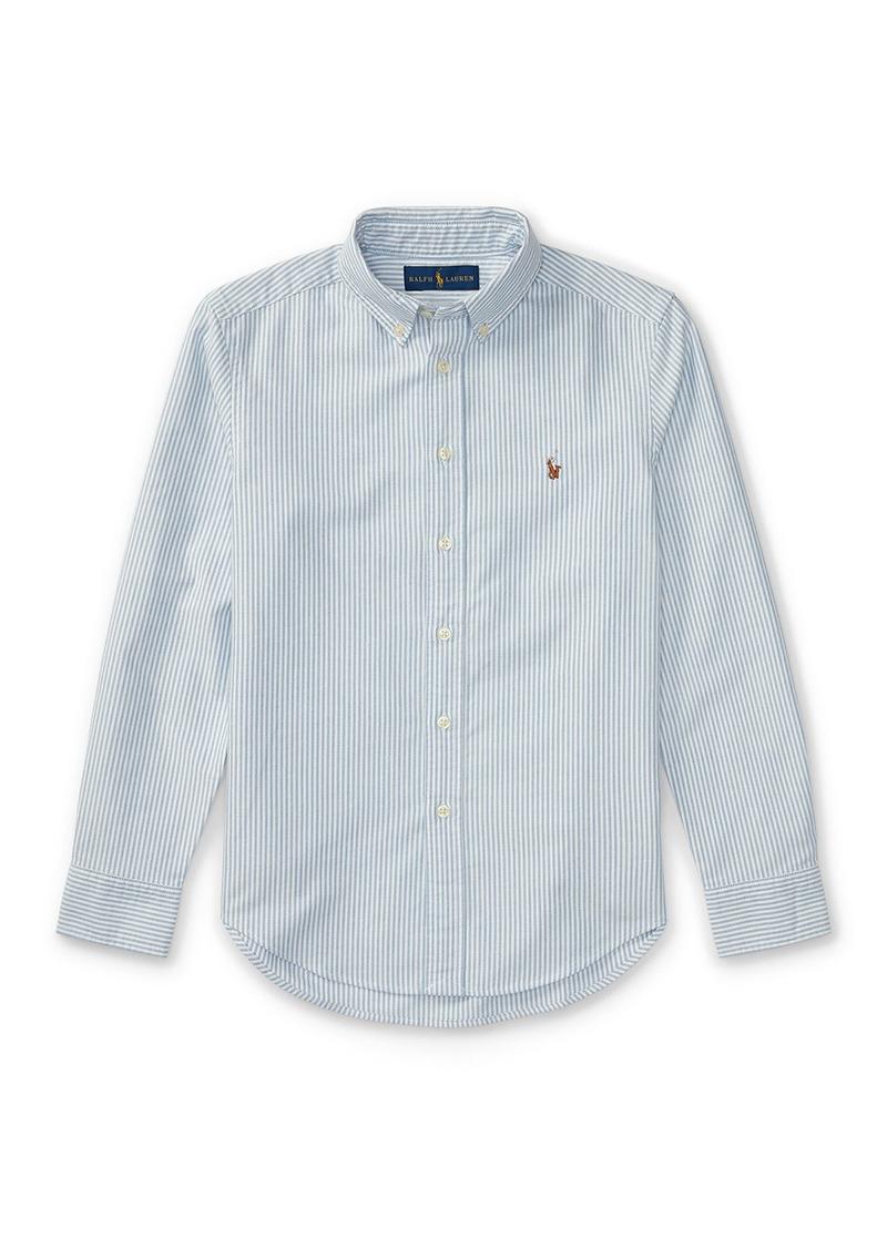 Ralph Lauren Cotton Oxford Stripe Sport Shirt  Size S-XL