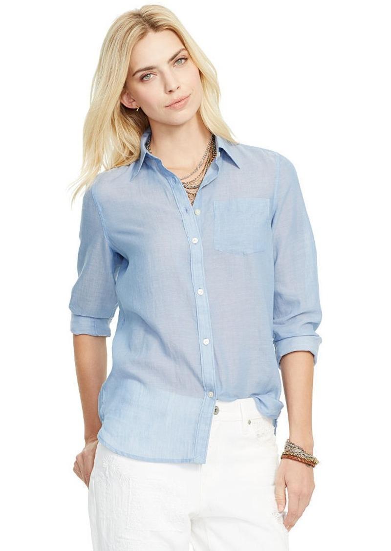 Ralph Lauren Cotton Pocket Shirt