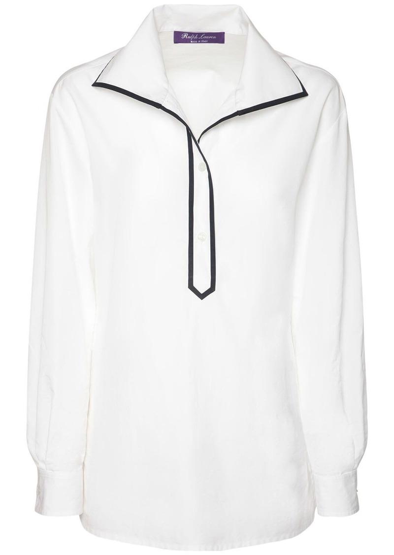 Ralph Lauren Cotton Poplin Glendale Shirt