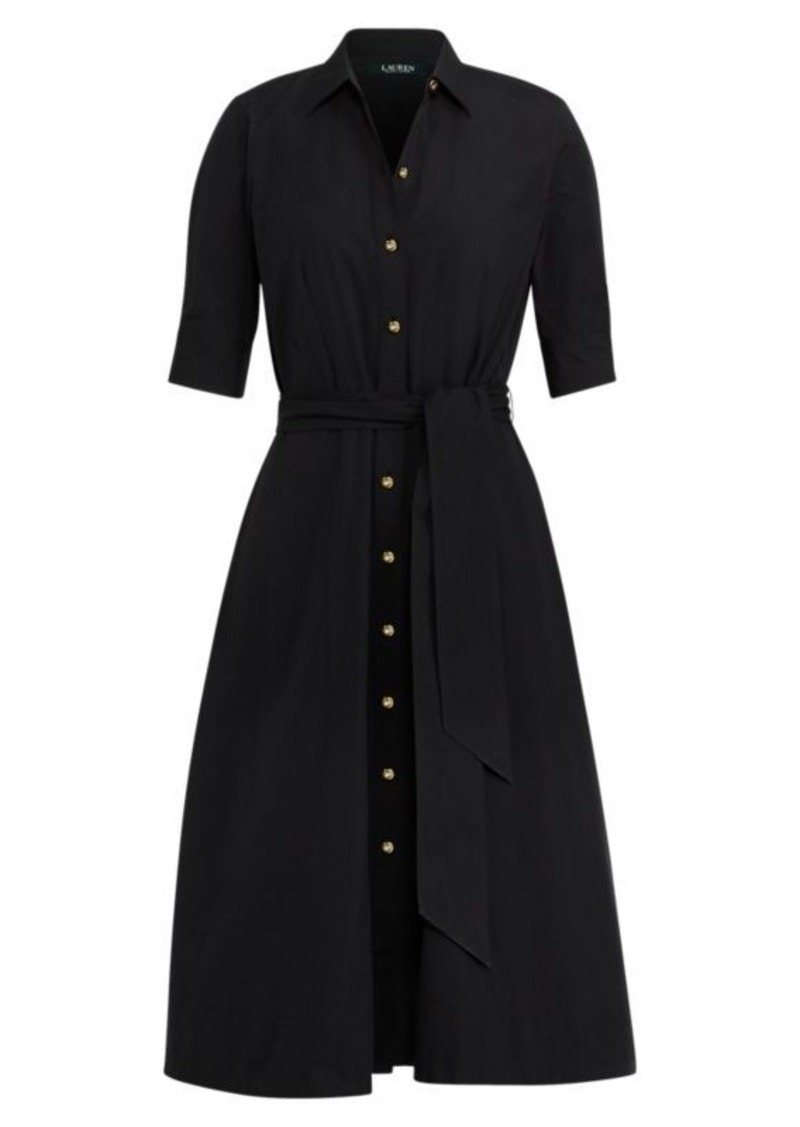 Ralph Lauren Cotton Poplin Shirtdress Dresses