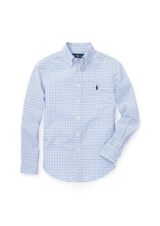 Ralph Lauren Stretch Cotton Poplin Shirt