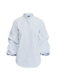 Ralph Lauren Cotton Puff-Sleeve Shirt
