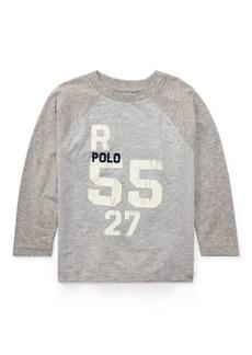 Ralph Lauren Cotton Raglan Graphic T-Shirt