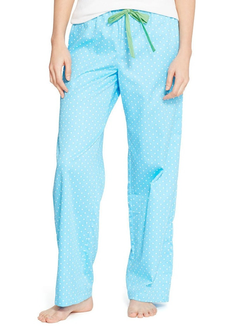 Ralph Lauren Cotton Sateen Pajama Pant