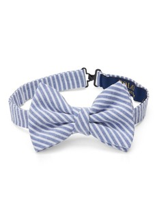Ralph Lauren Cotton Seersucker Bow Tie