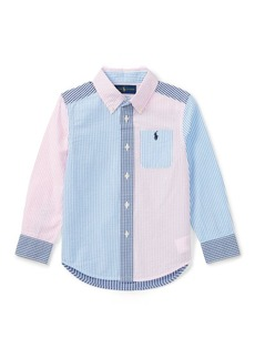 Ralph Lauren Cotton Seersucker Fun Shirt