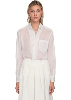 Ralph Lauren Cotton Sheer Shirt