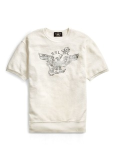 Ralph Lauren Cotton Short-Sleeve Sweatshirt