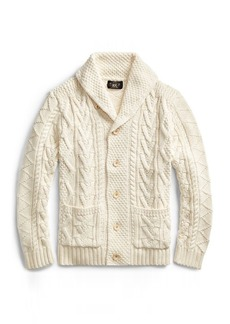 Ralph Lauren Cotton-Silk-Linen Cardigan