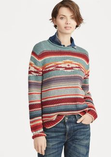Ralph Lauren Cotton-Silk Rollneck Sweater