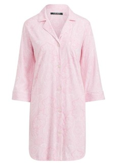Ralph Lauren Cotton Sleep Shirt