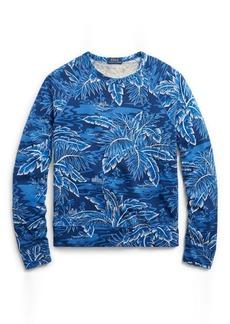 Ralph Lauren Cotton Spa Terry Sweatshirt