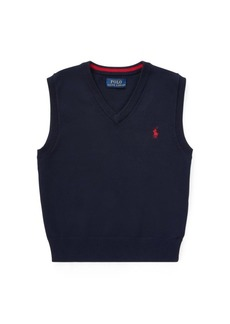 Ralph Lauren Cotton Sweater Vest