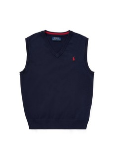 Ralph Lauren Cotton Sweater Vest