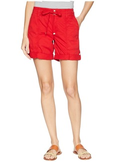 Ralph Lauren Cotton Twill Drawstring Shorts