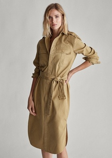 Ralph Lauren Cotton Twill Shirtdress