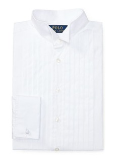 Ralph Lauren Cotton Wing-Collar Dress Shirt