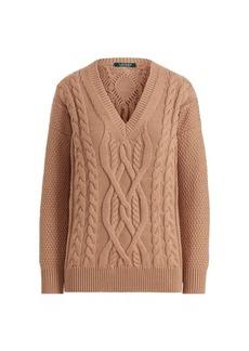 Ralph Lauren Cotton-Wool Sweater