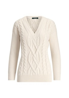 Ralph Lauren Cotton-Wool Sweater
