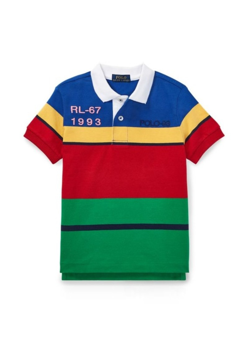 c42340e19 Ralph Lauren CP-93 Cotton Jersey Polo Shirt Now $14.99
