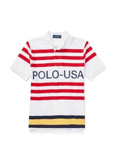 Ralph Lauren CP-93 Cotton Jersey Polo Shirt