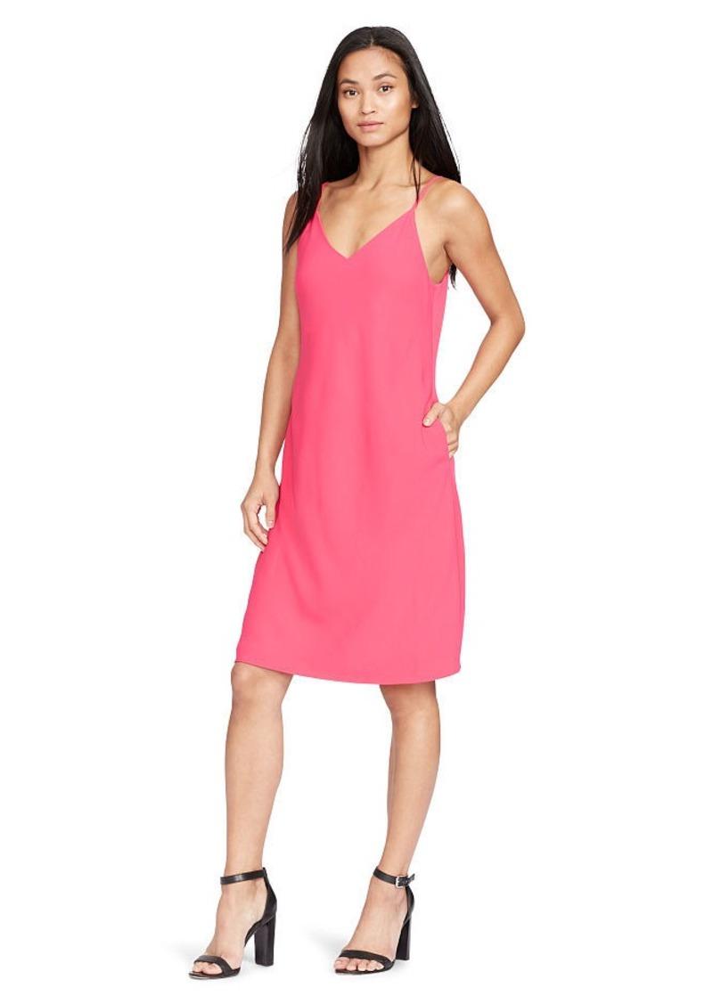 Ralph Lauren Crepe A-Line Dress