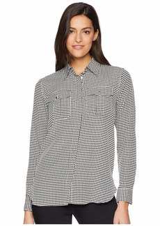 Ralph Lauren Crepe Button Down Shirt
