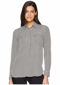 Ralph Lauren Crepe Button Down Shirt